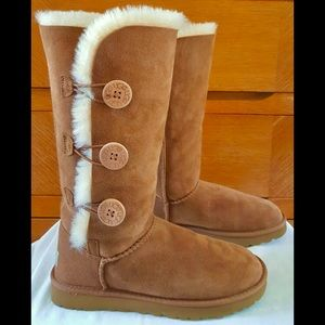 🍁🥧UGG Pure Triplet Chestnut Boots